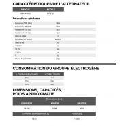 Cp-1650 50 hz triphasé groupe électrogène en container - 1.674,0 kva