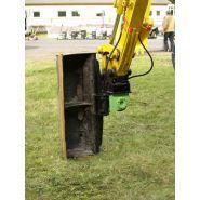 Tilt motor pour pelle 2 à 100 tonnes