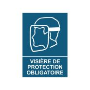 Etiquette de sécurite obligation pvc (pictogramme)
