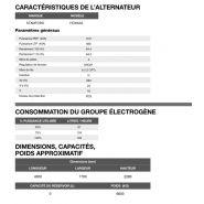 Ap-825 50 hz triphasé groupe électrogène en container - 813,7 kva