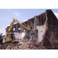 Pince de tri demolition