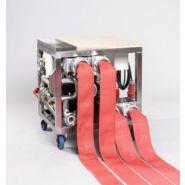 Chaine et machine d'entretien de tuyaux incendie