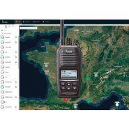 Talkie walkie hybride lte
