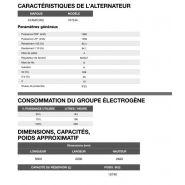 Ap-1400 50 hz triphasé groupe électrogène en container - 1.350,0 kva