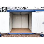 Container isole / démontable / 4.00m x 2.30m x 2.20m (h)