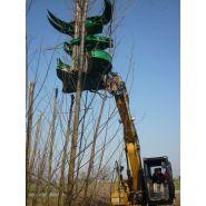 Secateur d'abattage wt (pelle de 5-36 tonnes)