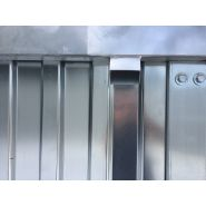 Container de stockage galva / démontable / 3m00 x 2m30 x 2m20 (h)