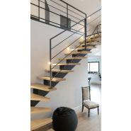 Escalier tourant -acier  cremaillere