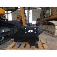 Coupleur hydraulique pour toute pelle 5 à 100 tonnes