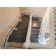 Fauteuil monte escalier tournant curve