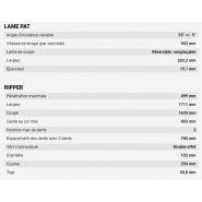 Bulldozer 1150m - case construction - puissance : 103 kw/138 ch