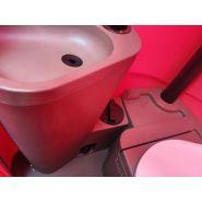Cabine wc chimique   lavabo
