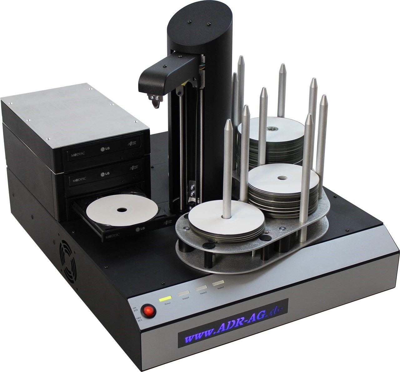 Machines de duplication de disques optiques
