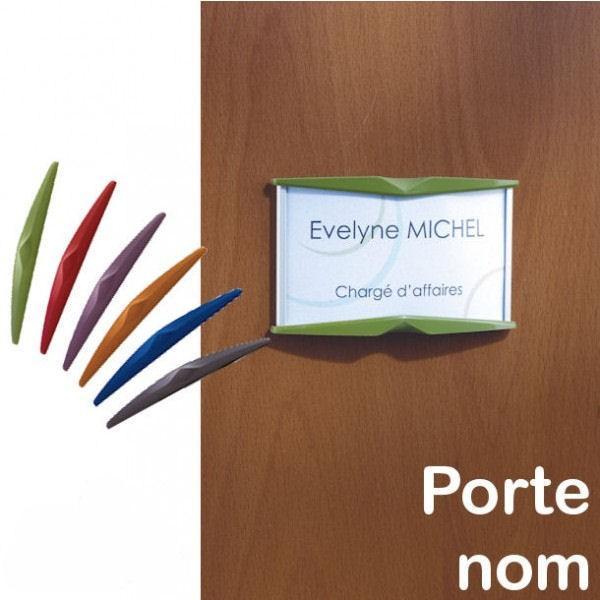 Porte nom sur porte bureau
