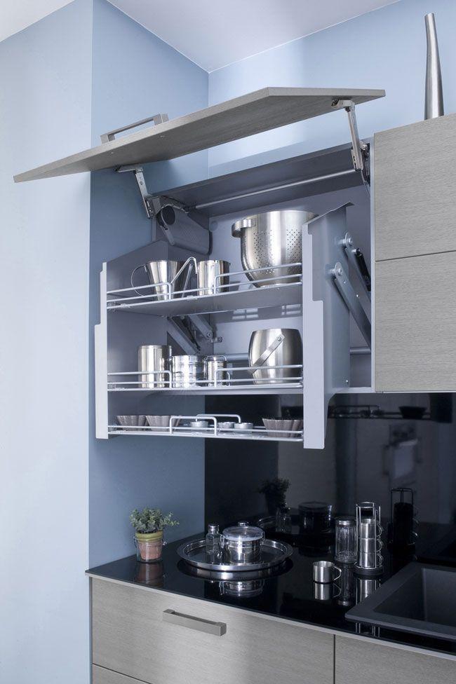 Rangement en hauteur de cuisine tous les fournisseurs for Fournisseur de cuisine pour professionnel