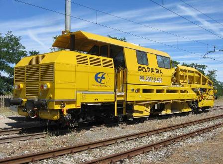 Entretiens lourds de voies ferrées